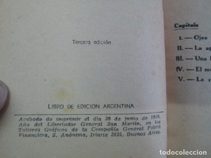 Tebeos: 8 PEQUEÑOS GRANDES LIBROS. EDITORIAL ABRIL. MANDRAKE, BUCK ROGERS, SATURNO, AMAZONA, FAROLITO.... - Foto 61 - 104629415