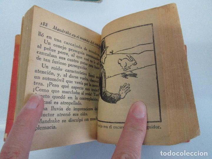 Tebeos: 8 PEQUEÑOS GRANDES LIBROS. EDITORIAL ABRIL. MANDRAKE, BUCK ROGERS, SATURNO, AMAZONA, FAROLITO.... - Foto 64 - 104629415