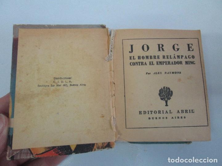 Tebeos: 8 PEQUEÑOS GRANDES LIBROS. EDITORIAL ABRIL. MANDRAKE, BUCK ROGERS, SATURNO, AMAZONA, FAROLITO.... - Foto 69 - 104629415