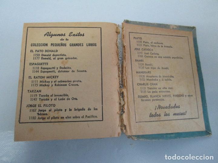 Tebeos: 8 PEQUEÑOS GRANDES LIBROS. EDITORIAL ABRIL. MANDRAKE, BUCK ROGERS, SATURNO, AMAZONA, FAROLITO.... - Foto 75 - 104629415