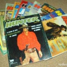 Tebeos: HUNTER, EL MEJOR COMIC DEL OESTE COMPLETA, RIEGO 1980- 12 COMIC ORIGINALES. Lote 104810883