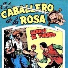 Tebeos: COLECCION COMPLETA EL CABALLERO ROSA 7 EJEMPLARES REEDICION . Lote 105148711