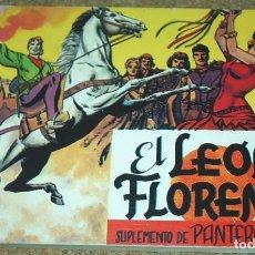 Tebeos: EL LEON DE FLORENCIA, COLECCION COMPLETA EN 1 TOMO - REEDICION DE LOS AÑOS 80. Lote 105480663