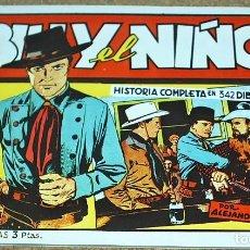 Tebeos: BILLY EL NIÑO, NÚMERO ÚNICO - REEDICIÓN DE LOS AÑOS 80- LEER. Lote 105487807