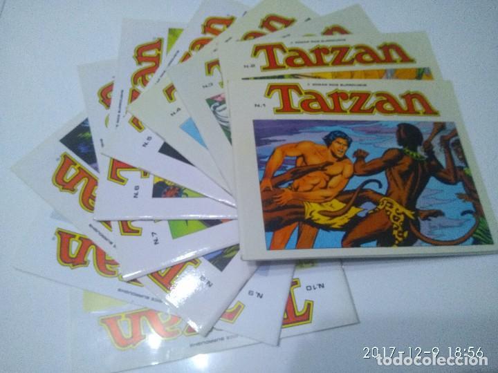 TARZAN 10 TOMOS COLECCIÓN COMPLETA. RUSS MAINNING. EDGAR RICE BURROUGHS. EDICIONES B.O. (Tebeos y Comics - Tebeos Colecciones y Lotes Avanzados)