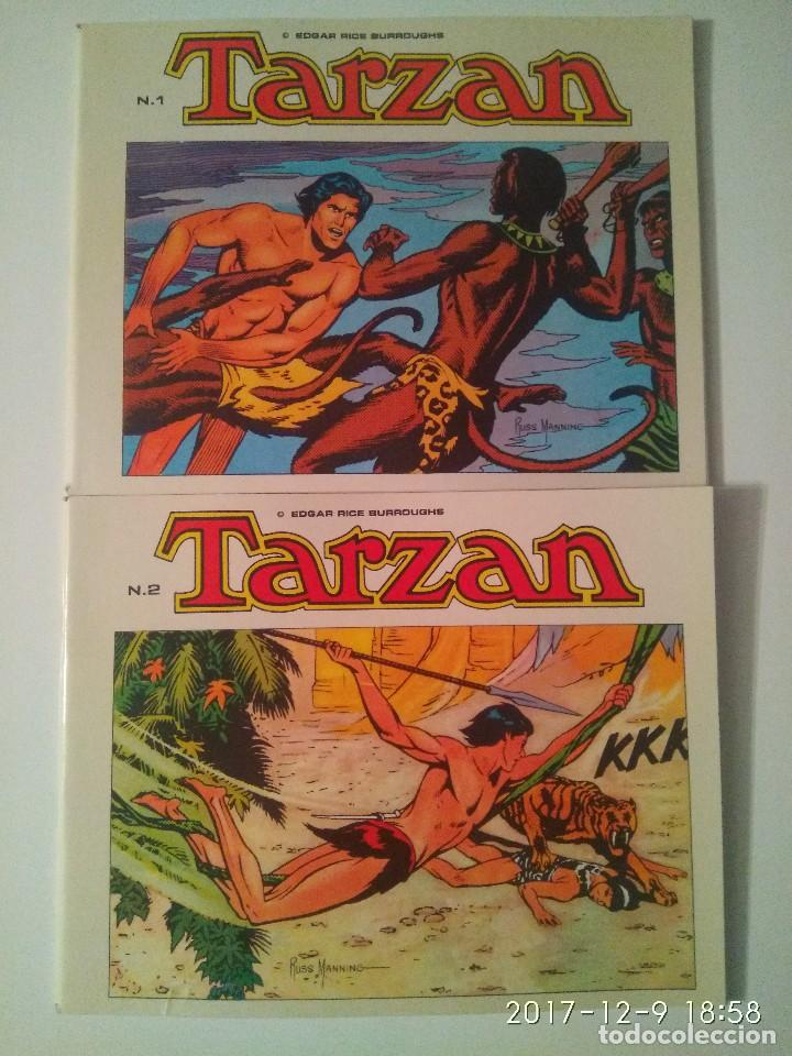 Tebeos: Tarzan 10 tomos Colección completa. Russ Mainning. Edgar Rice Burroughs. Ediciones B.O. - Foto 4 - 165965520