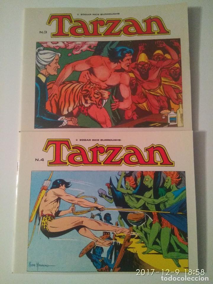 Tebeos: Tarzan 10 tomos Colección completa. Russ Mainning. Edgar Rice Burroughs. Ediciones B.O. - Foto 5 - 165965520