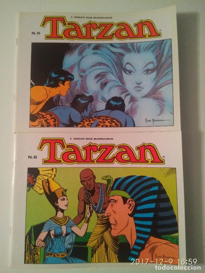 Tebeos: Tarzan 10 tomos Colección completa. Russ Mainning. Edgar Rice Burroughs. Ediciones B.O. - Foto 6 - 165965520