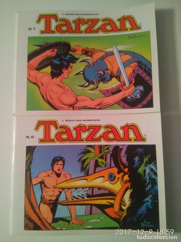 Tebeos: Tarzan 10 tomos Colección completa. Russ Mainning. Edgar Rice Burroughs. Ediciones B.O. - Foto 7 - 165965520