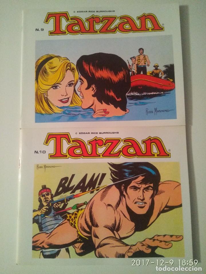 Tebeos: Tarzan 10 tomos Colección completa. Russ Mainning. Edgar Rice Burroughs. Ediciones B.O. - Foto 8 - 165965520