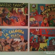 Tebeos: COLECCIÓN COMPLETA RICARDO BARRIO EL PELIRROJO. 4 TOMOS. REEDICION HISPANO AMERICANA EDICIONES. . Lote 105684939