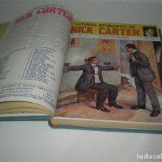 Tebeos: LOTE DE 50 EPISODIOS DE NICK CARTER DEL 1 AL 50. Lote 106223507