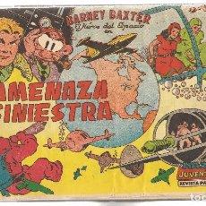 Tebeos: BARNEY BAXTER. 12 NROS.¡¡COLECCIÓN COMPLETA!! ENCUADERNADO.UN TOMO. VALENCIANA 1960. (RF.MA)B/29. Lote 106709687