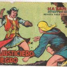 Tebeos: EL JUSTICIERO NEGRO. 24 NROS. ¡¡COLECCIÓN COMPLETA ORIGINAL!!. EDITORIAL VALENCIANA. (RF.MA)C/6. Lote 106895467