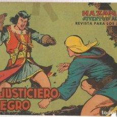 Tebeos: EL JUSTICIERO NEGRO. 24 NROS. ¡¡COLECCIÓN COMPLETA ORIGINAL!! DE RETAPADO. VALENCIANA. (RF.MA)C/6. Lote 106896011