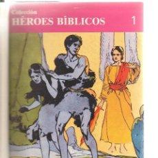 Tebeos: HÉROES BÍBLICOS. 60 NROS. ¡¡COMPLETA!!.ENCUADERNADA EN 3 TOMOS. EDICIONES DON BOSCO 1981 (RF.MA)B/18. Lote 106912351
