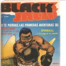 Tebeos: BLACK JACK. 6 NROS. ¡¡COLECCIÓN COMPLETA!! ENCUADERNADA EN UN TOMOS. AMAIKA. (RF.MA)B/19. Lote 106918159