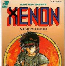 Tebeos: XENON. MASOAMI KANZAKI. 11 NROS. ¡¡COMPLETA!!. PLANETA (RF.MA)B/61. Lote 107022739
