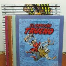 Tebeos: LAS AVENTURAS DE EL CAPITÁN TRUENO.LOTE DE 34 TOMOS-1 AL 34- PLANETA 2009. Lote 107047871