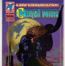 Tebeos: ULTRAVERSE. NIGHT MAN. 4 NRO. ¡¡ COMPLETA!!. FORUM. (RF.MA)B/61. Lote 107107083