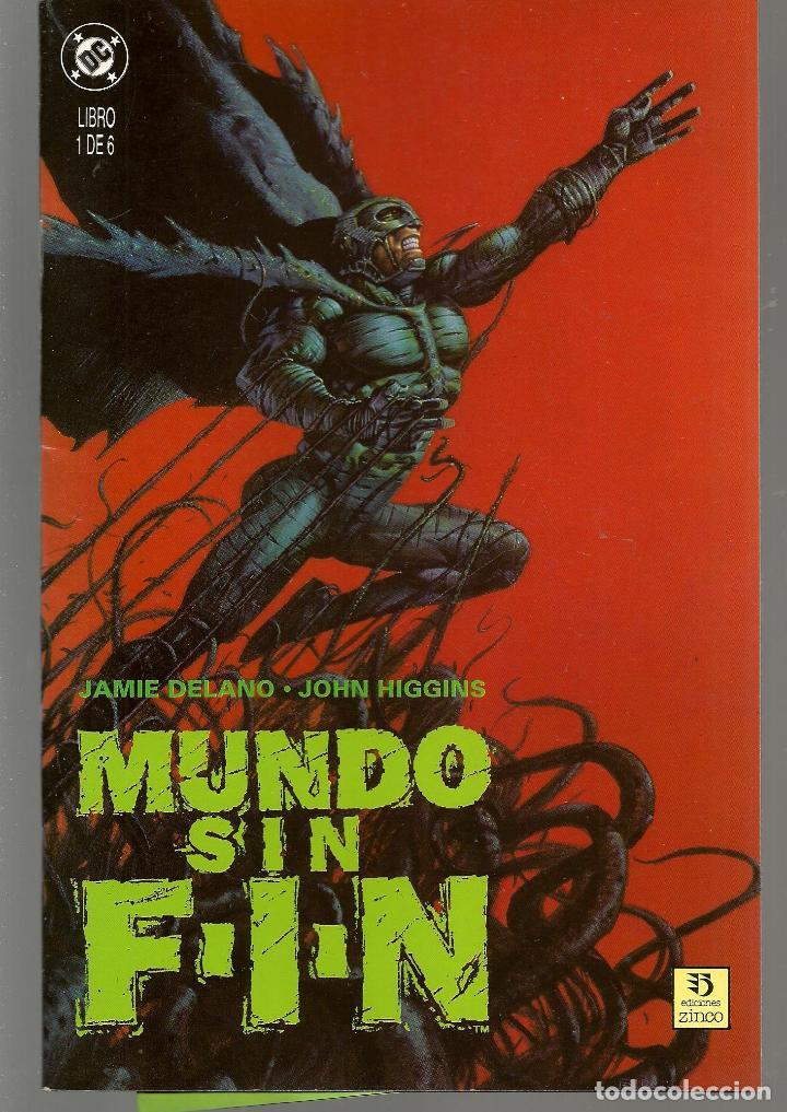 MUNDO SIN FIN. 6 NROS. ¡¡ COMPLETA!!. DC/ZINCO (RF.MA) C/21 (Tebeos y Comics - Tebeos Colecciones y Lotes Avanzados)
