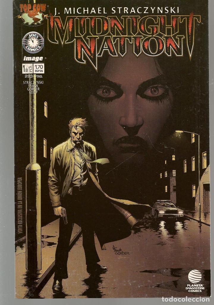 MIDNIGHT NATION. 12 NROS. ¡¡ COMPLETA!!. DC / ZINCO. (RF.MA) C/21 (Tebeos y Comics - Tebeos Colecciones y Lotes Avanzados)