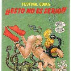 Tebeos: FESTIVAL EDIKA. 2 NROS. ¡¡ COLECCIÓN COMPLETA !!. NORMA. (RF.MA) C/5. Lote 107309119