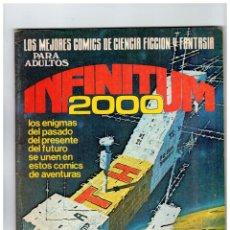 Tebeos: INFINITUM 2000 - LOTE DE 23 NÚMEROS - PRODUCCIONES EDITORIALES 1980.. Lote 107663535