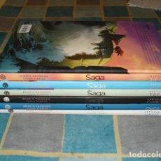 Tebeos: SAGA, 2012, COMPLETA, 6 TOMOS, PLANETA CÓMIC, IMPECABLES. Lote 107881567