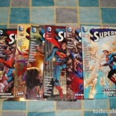 Tebeos: SUPERMAN, 2013, COMPLETA, 7 NÚMEROS, ECC, IMPECABLES. Lote 108975203