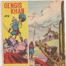 Tebeos: GENGIS - KHAN, AÑO 1.965. COLECCIÓN COMPLETA DE 6. TEBEOS SON ORIGINALES EDITORIAL GALAOR.. Lote 108982743