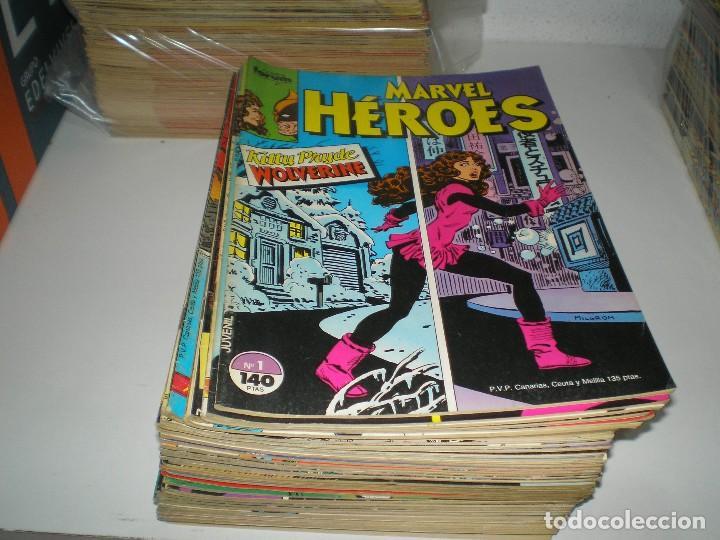 COLECCION DE MARVEL HEROES DE FORUM (Tebeos y Comics - Tebeos Colecciones y Lotes Avanzados)