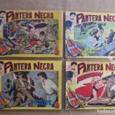 Tebeos: PANTERA NEGRA 1 A 54 COMPLETA - BUEN ESTADO - ORIGINAL - MAGA 1956 - JLV. Lote 109277391