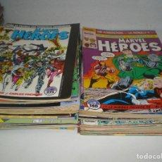 Tebeos: COLECCION DE MARVEL HEROES. Lote 109374795