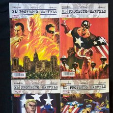 Tebeos: PROYECTO MARVELS SERIE COMPLETA 4 NÚMEROS PANINI COMICS. Lote 109378655