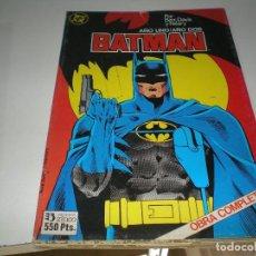 Tebeos: BATMAN AÑO UNO Y AÑO DOS. Lote 109378743