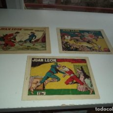 Tebeos: JUAN LEÓN, EL GUERRILLERO DE SIERRA MORENA, AÑO 1.954. Nº 6 - 11 - 15. ORIGINALES.EDITORIAL TORAY.. Lote 109706395