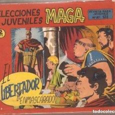 Tebeos: EL LIBERTADOR AÑO 1965 COLECCIÓN COMPLETA DE 30 TEBEOS ORIGINALES DIBUJANTE SEGRELLES.EDITORIAL MAGA. Lote 110023775