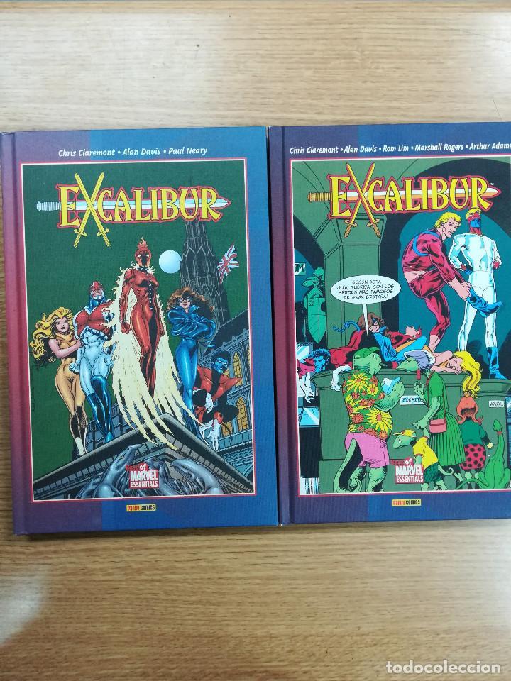 EXCALIBUR (BEST OF MARVEL) COLECCION COMPLETA (2 TOMOS) (Tebeos y Comics - Tebeos Colecciones y Lotes Avanzados)
