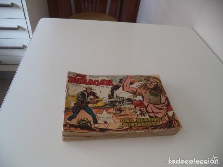 JIM HURACÁN AÑO 1959 LOTE DE 55 TEBEOS SON ORIGINALES DIFICILES DIBUJANTE J. BUXADÉ EDICIONES TORAY (Tebeos y Comics - Tebeos Colecciones y Lotes Avanzados)