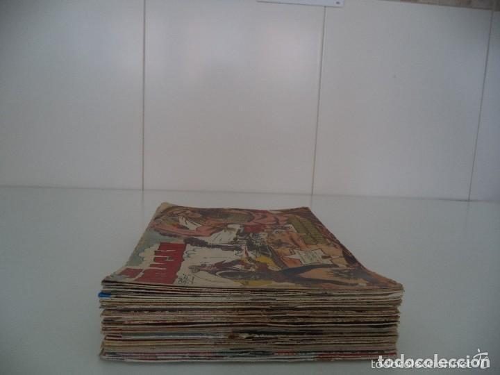 Tebeos: Jim Huracán Año 1959 Lote de 55 Tebeos son Originales dificiles Dibujante J. Buxadé Ediciones Toray - Foto 2 - 110133563