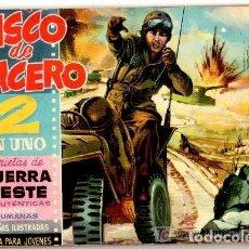Tebeos: CASCO DE ACERO 2 EN UNO, AÑO 1.961, COLECCIÓN COMPLETA DE 38. TEBEOS + 7. EXTRAS SON ORIGINALES. Lote 110270179