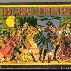 Tebeos: EL CABALLERO NEGRO ORIGINAL DE BOIXCAR. COMPLETA ENCUADERNADA EN UN TOMO DE EPOCA. Lote 110468363