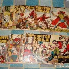 Tebeos: CAPITAN CORAJE, 1958, COLECCIÓN ORIGINAL COMPLETA, 44 NÚMEROS, EDICIONES TORAY, MUY BUEN ESTADO. Lote 111215179