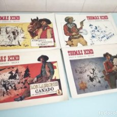 Tebeos: THOMAS KIND. COMIC, TBO, SHERIFF DE QUEBRADA NEGRA. LOTE: 1,2,3 Y 4. Lote 111374363