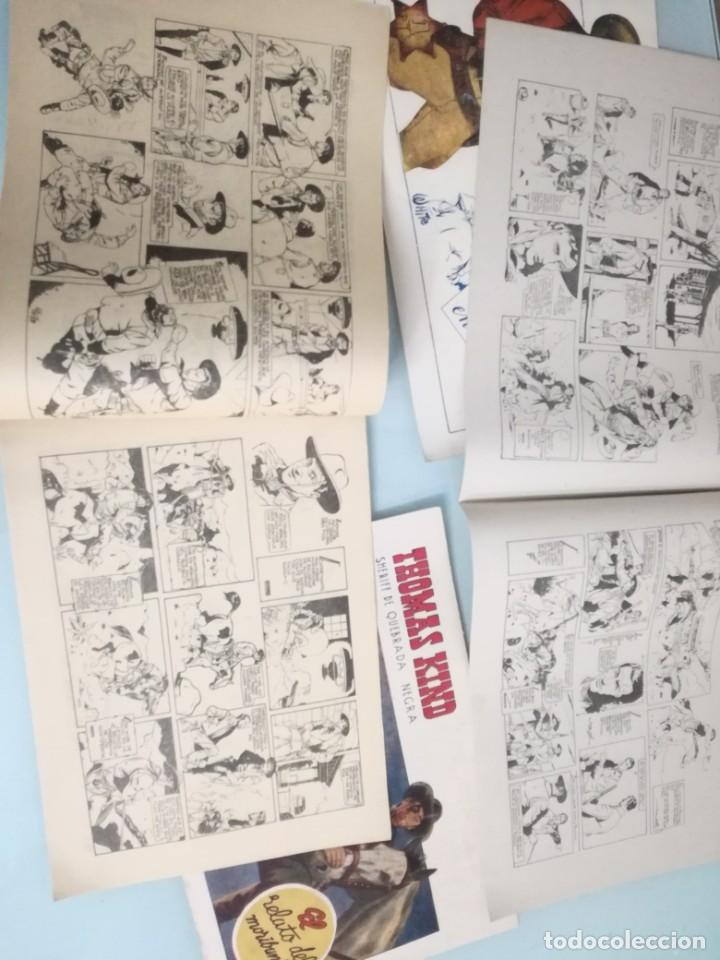 Tebeos: THOMAS KIND. comic, tbo, SHERIFF DE QUEBRADA NEGRA. LOTE: 1,2,3 Y 4 - Foto 2 - 111374363