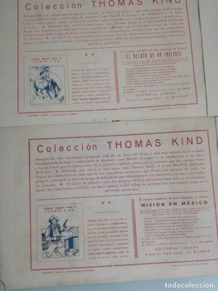 Tebeos: THOMAS KIND. comic, tbo, SHERIFF DE QUEBRADA NEGRA. LOTE: 1,2,3 Y 4 - Foto 4 - 111374363