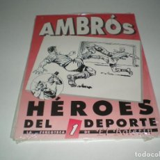 Livros de Banda Desenhada: AMBROS HEROES DEL DEPORTE Nº 1. Lote 111937611