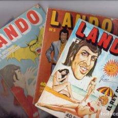 Tebeos: COMIC EROTICO, LANDO ( 4 ). Lote 112269239