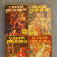Tebeos: 4 COMICS CUENTOS PROHIBIDOS DE EDICIONES ACTUALES NUMEROS 1-2-3-5 ORIGINALES. Lote 112336875